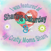 Crafty Moms Share Sharing Saturday I was Featured