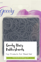 Goody Hair Rubberbands-Top Products for Mixed Hair Care