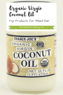 Coconut Oil-Top Product for Mixed Hair Care