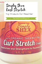 Simply Shea Curl Stretch Cream-Top Products for Mixed Hair Care