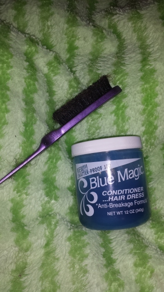 Blue Magic & Boar Bristle Brush themixedmamablog.com