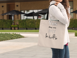 Yes they are my kids-Tote