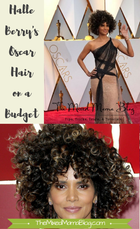 Halle Berry's Hair - Oscars 2017 on a Budget _ Pinterest