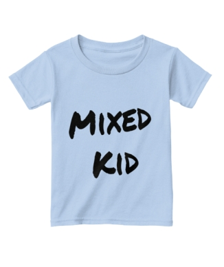 MixedKidTee_Blue
