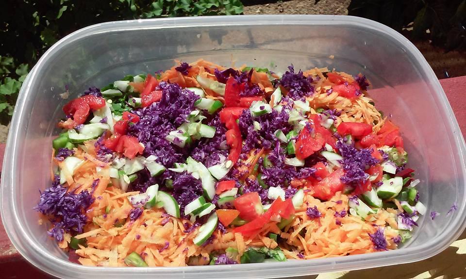 Fresh Belize Salad