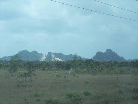 10 Fun & Interesting Facts about Belize - Sleeping Giant Mountain Range