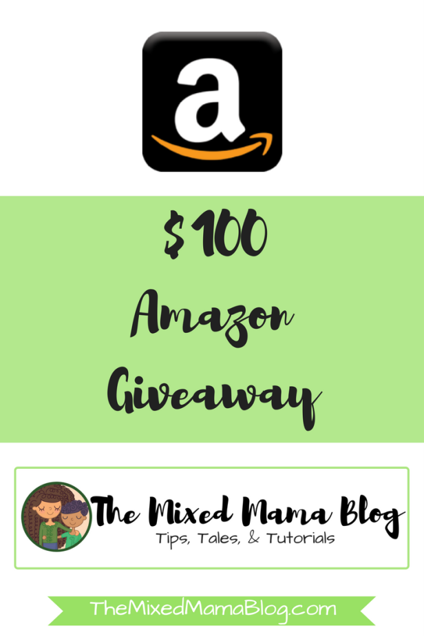 $100 Amazon Giveaway by TheMixedMamaBlog