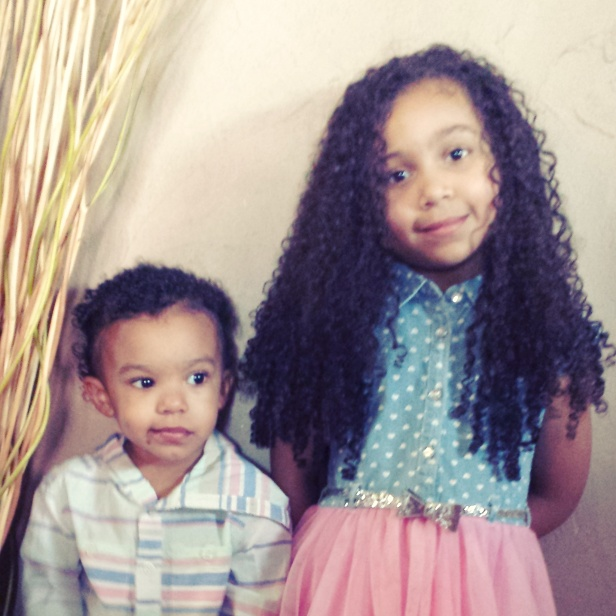 Cantu Care for Kids Review_Nourishing Shampoo and Curling Creme _ Easter Pic of Kids