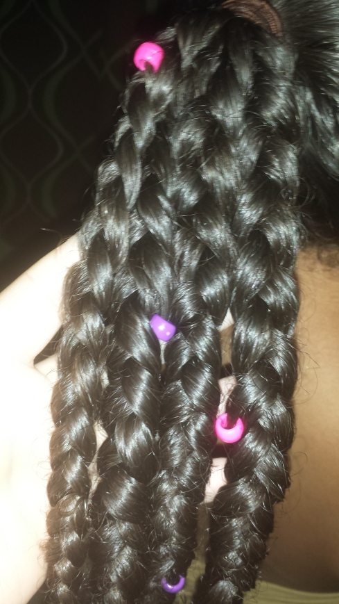 Braids & Beads Tutorial - A Protective Style by The Mixed Mama Blog
