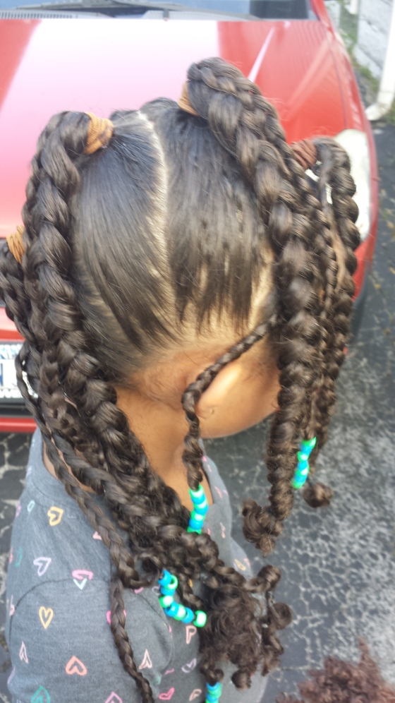 Braids and Beads Mohawk _Tutorial Tuesday