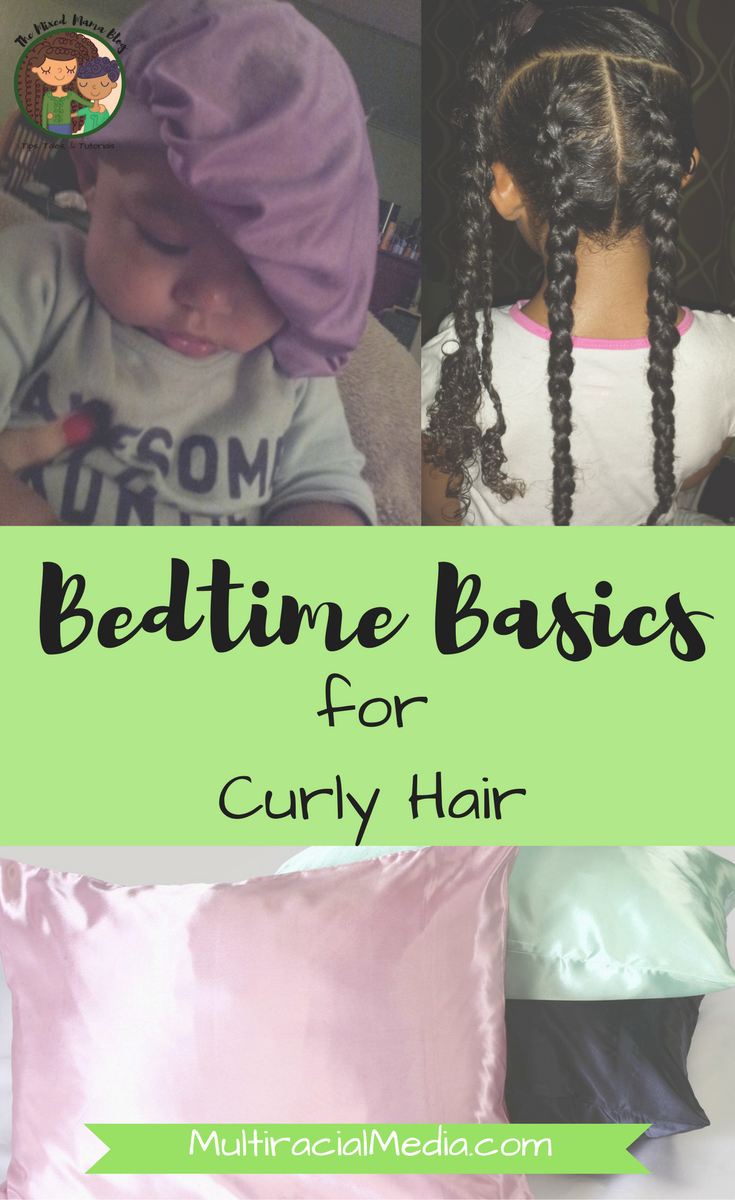 Bedtime Basics for Curly Hair Kids