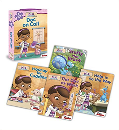 Doc McStuffins - Doc on Call - Board Book Box Set