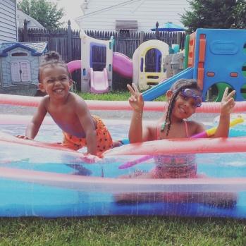 Pool in the Summer _ FamilyFridays