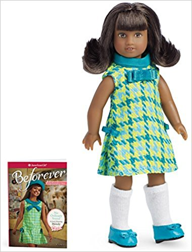 Melody Ellison Mini Doll and Book written by Denise Lewis Patrick