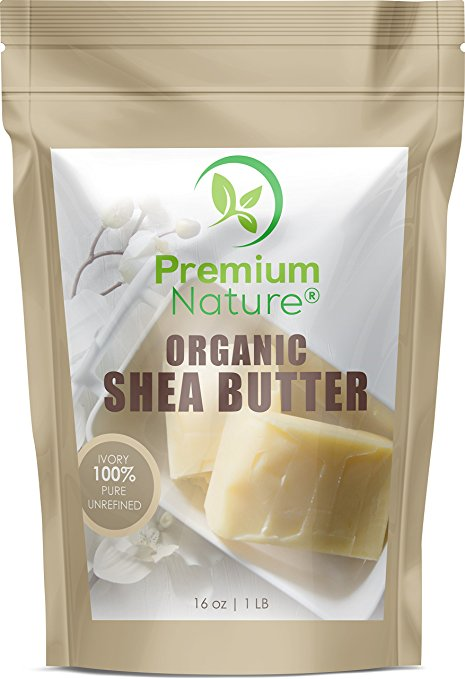 Natural Unrefined African Shea Butter by Premium Nature