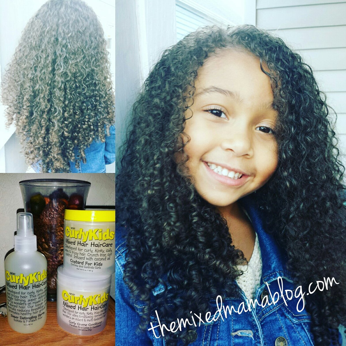 Curly Kids Hair Care Results Pictures