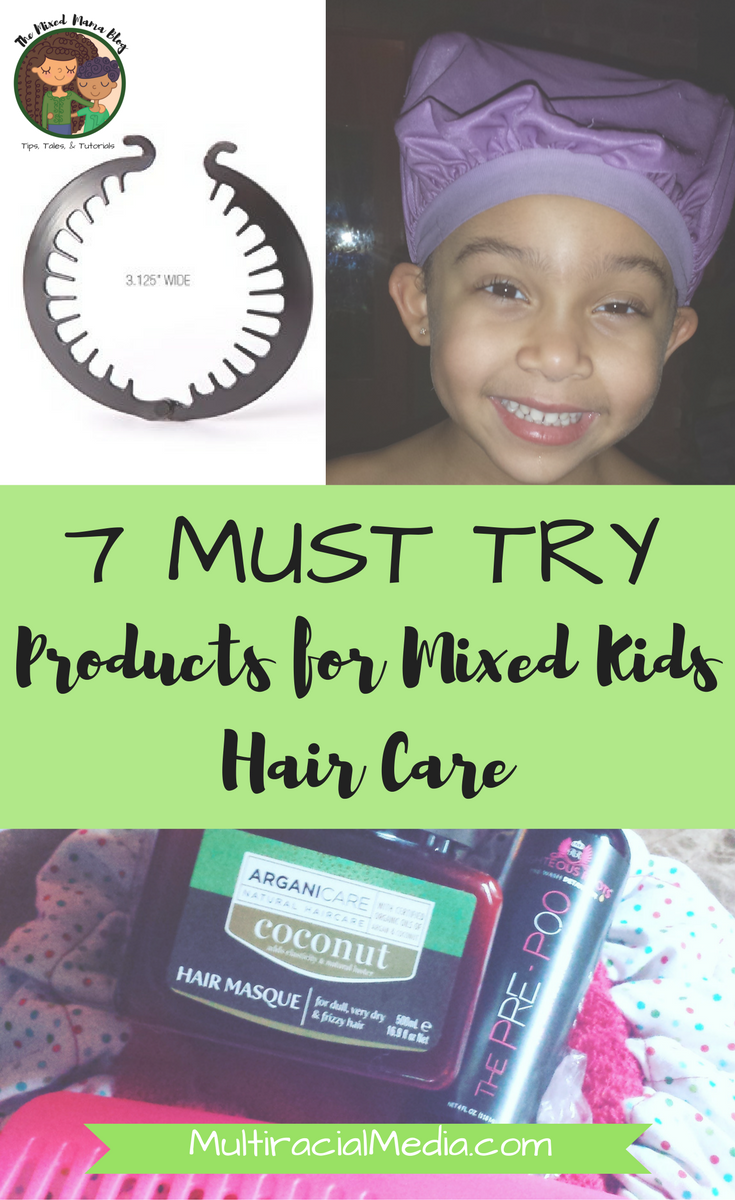 Products for Mixed Kids Hair Care