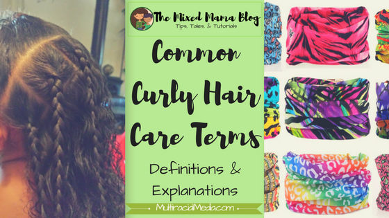 Common Curly Hair Care Terms - Definitions and Explanations _ Blog Cover