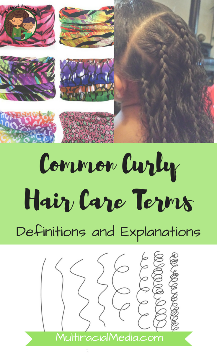 Common Curly Hair Care Terms - Definitions and Explanations